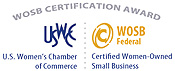 Click Here to View U.S. Women's Chamber of Commerce Certification Award Information